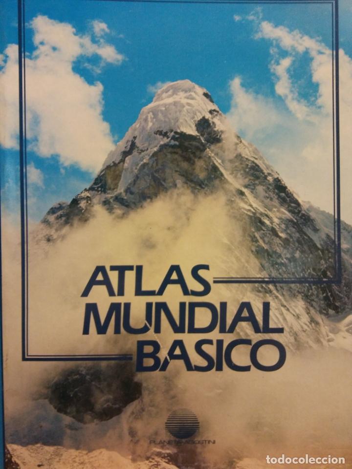 ATLAS MUNDIAL BÁSICO. INSTITUTO GEOGRAFICO DE AGOSTINI Y EDITORIAL TEIDE. PLANETA-AGOSTINI (Libros de Segunda Mano - Geografía y Viajes)
