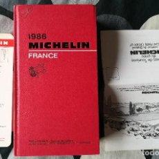 Libros de segunda mano: GUIA GUIDE MICHELIN FRANCE 1986 , FRANCIA . COMPLETA. Lote 183415897