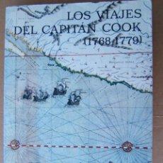 Libros de segunda mano: LOS VIAJES DEL CAPITAN COOK (1768/1779)-A.GRENFELL PRICE-TRES VIAJES DETALLADOS-1988-1ª REIMPRESION.. Lote 278637558