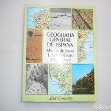 Libros de segunda mano: MANUEL DE TERÁN, L. SOLÉ SABARÍS, J. VILA VALENTÍN GEOGRAFÍA GENERAL DE ESPAÑA Y97148. Lote 183899817