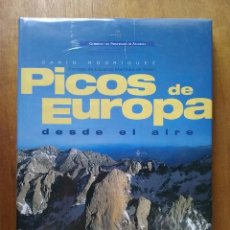 Libros de segunda mano: PICOS DE EUROPA DESDE EL AIRE, DARIO RODRIGUEZ, DESNIVEL EDICIONES SOCIEDAD GEOGRAFICA ESPAÑOLA 2004. Lote 184024858