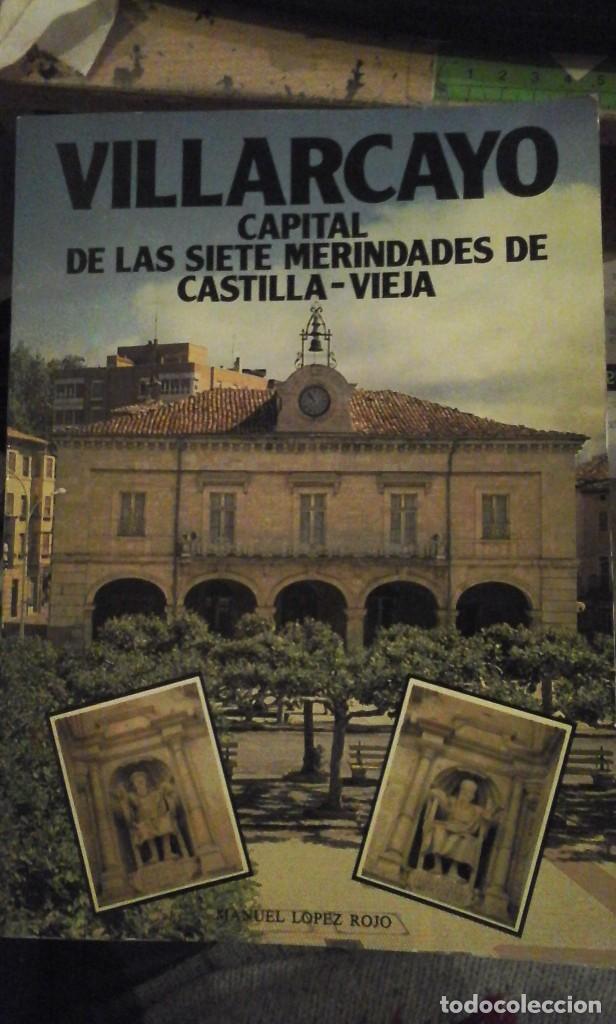 VILLARCAYO, CAPITAL DE LAS SIETE MERINDADES DE CASTILLA-VIEJA (BURGOS, 1982) DEDICATORIA AUTÓGRAFA D (Libros de Segunda Mano - Geografía y Viajes)