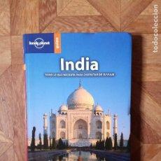 Libros de segunda mano: LONELY PLANET - INDIA. Lote 184084482