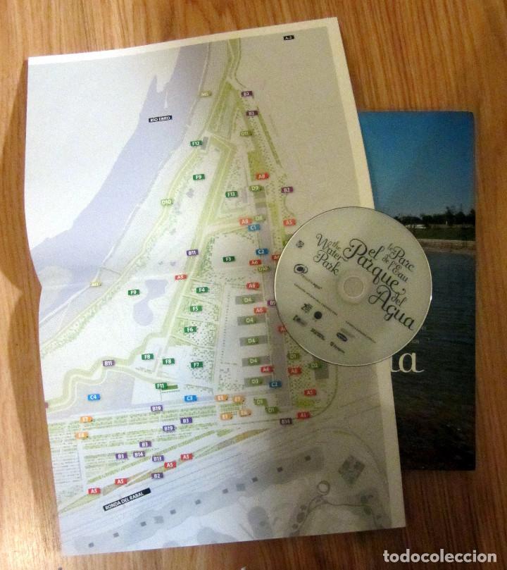 Libros de segunda mano: LIBRO EL PARQUE DEL AGUA ZARAGOZA EXPO 2008 CONTIENE PLANO Y CD 250 PAGINAS - Foto 2 - 184289086