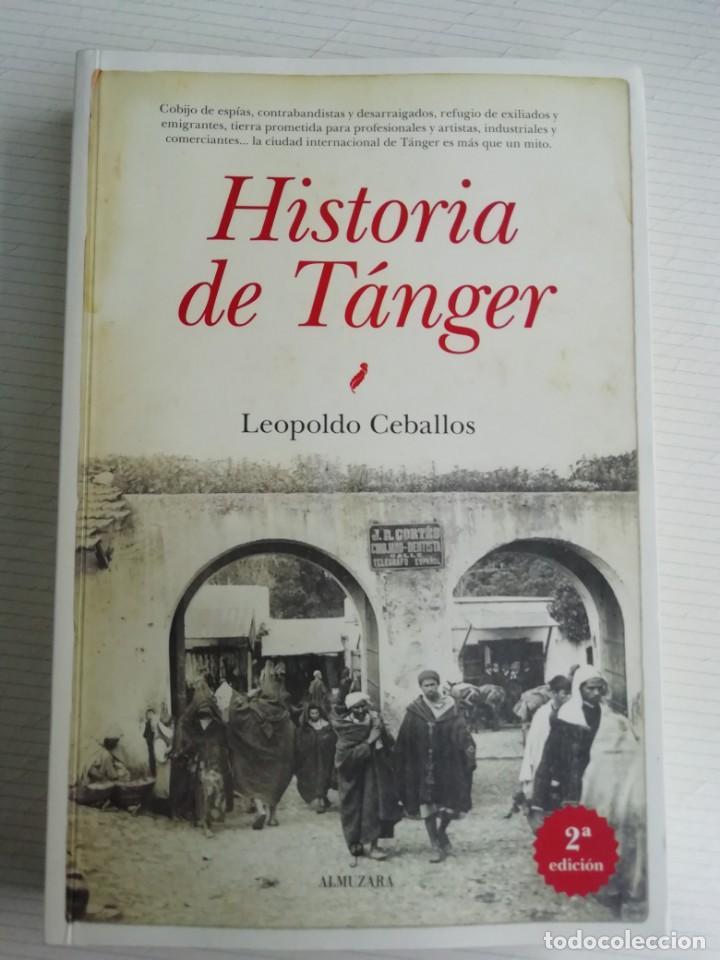 HISTORIA DE TÁNGER (Libros de Segunda Mano - Geografía y Viajes)