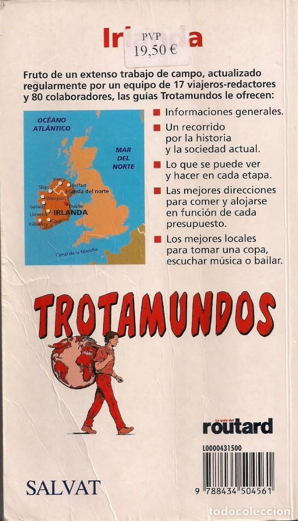 Libros de segunda mano: Guía de Irlanda + Irlanda del Norte - Trotamundos - Salvat Editores 2006 - Foto 2 - 184631808