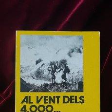Libros de segunda mano: AL VENT DELS 4.000... - ISIDRE RODRIGO - LLIBRE DE MOTXILLA Nº 14 1980. Lote 184708111