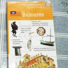 Livres d'occasion: GUÍAS VISUALES DE ESPAÑA BALEARES . Lote 184832932