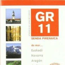 Libros de segunda mano: SENDA PIRENAICA DE MAR GR 11- 2 TOMOS OBRA PRECINTADA. NUEVO. MAPAS DESPLEGABLES. Lote 185679793