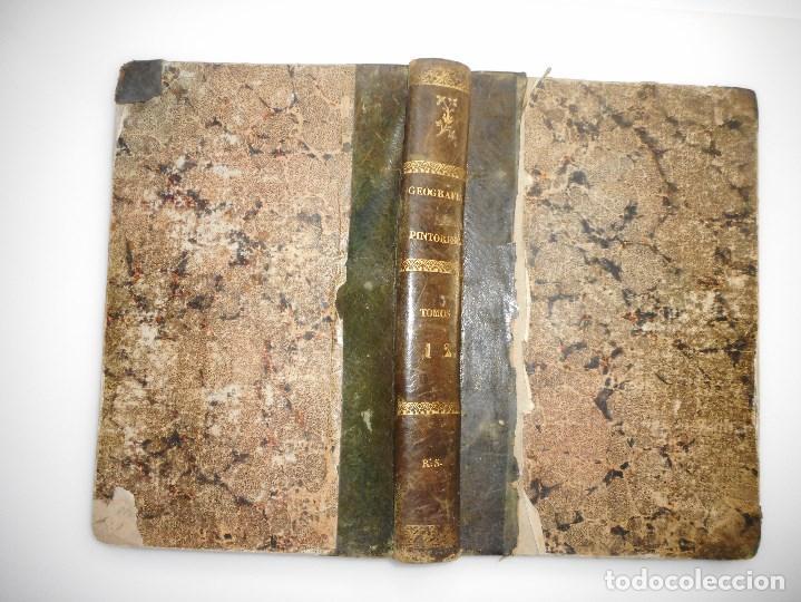 ALBUM GEOGRÁFICO;VARIAS VISTAS, TRAJES Y DISEÑOS PARA MAYOR ILUSTRACIÓN DE LA GEOGRAFÍA ....Y97409 (Libros de Segunda Mano - Geografía y Viajes)