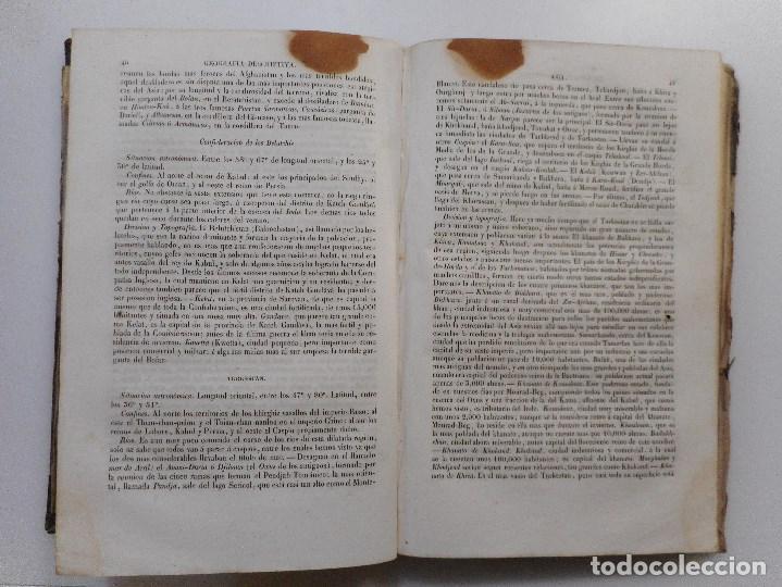 Libros de segunda mano: Album geográfico;Varias vistas, trajes y diseños para mayor ilustración de la geografía ....Y97409 - Foto 3 - 185973203