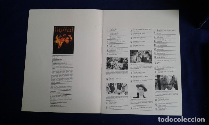 Libros de segunda mano: REVISTA DE PRIMAVERA SEVILLA 1987 - Foto 2 - 186240183
