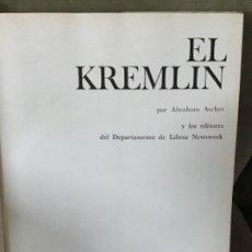 Libros de segunda mano: ABRAHAM ASCHER -EL KREMLIN - READER'S DIGEST, 1974 - MUROS TESTIGOS DE LA HISTORIA. Lote 186240676