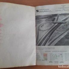 Libros de segunda mano: MAPA DE CARRETERAS ESPAÑA Y PORTUGAL. ELECTRA MOLINS. AÑOS 50-60?. Lote 186249683