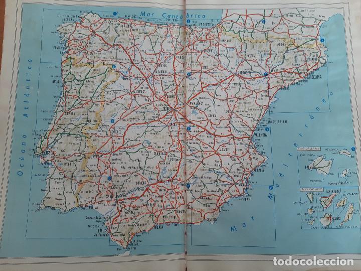 Libros de segunda mano: Mapa de Carreteras España y Portugal. Electra Molins. Años 50-60? - Foto 9 - 186249683
