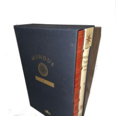 Libros de segunda mano: FACSIMIL LIBRO MUNDUS ATLAS LA TIERRA GEOGRAFIA - SERIE LIMITADA 3000 - PTOLOMEO. Lote 188814612