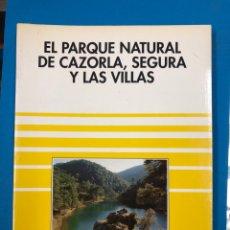Libros de segunda mano: EL PARQUE NATURAL DE CAZORLA, SEGURA Y LAS VILLAS - SENDAI EDICIONES 1992. Lote 190324037