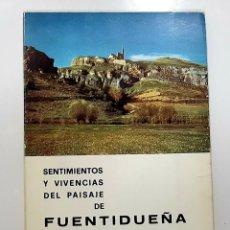 Libros de segunda mano: SENTIMIENTOS Y VIVENCIAS DEL PAISAJE DE FUENTIDUEÑA (1977 SEGOVIA) - ANDRES RICARDO MARTINEZ GARCIA. Lote 190343787