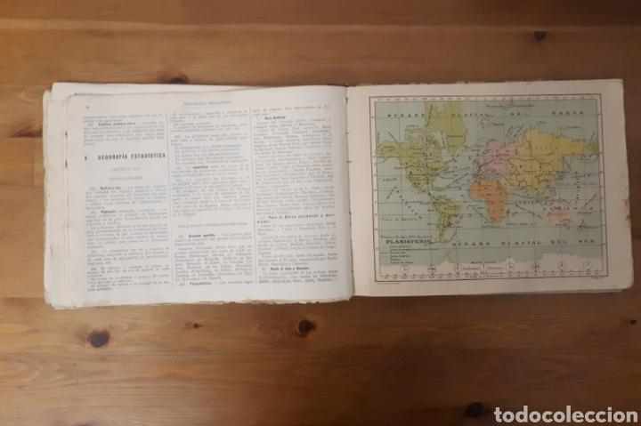 Libros de segunda mano: Geografía Atlas 2° grado o curso medio. Bruño. - Foto 4 - 190925547