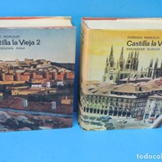 Libros de segunda mano: CASTILLA LA VIEJA (2 TOMOS, OBRA COMPLETA) .- RIDRUEJO, DIONISIO. Lote 191342367