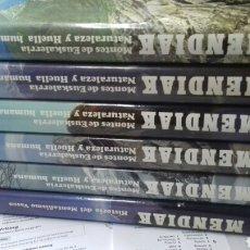 Libros de segunda mano: MENDIAK. MONTES DE EUSKALERRIA. BATURALEZA Y HUELLA HUMANA. 6 TOMOS. Lote 191387337