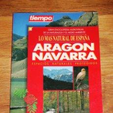 Libros de segunda mano: ARAGÓN ; NAVARRA : ESPACIOS NATURALES PROTEGIDOS (LO MÁS NATURAL DE ESPAÑA). Lote 191402872