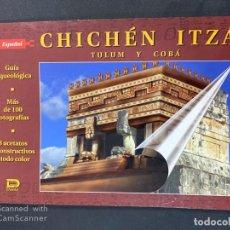 Libros de segunda mano: CHICHÉN ITZA. TULUM Y COBÁ. DANTE. MEXICO, 2007. PAGS: 71. ILUSTRADO. . Lote 191787053
