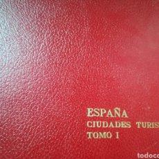 Libros de segunda mano: ESPAÑA CIUDADES TURÍSTICAS TOMO 1 ÁVILA CÓRDOBA GRANADA TOLEDO...MINISTERIO DE INFORMACIÓN Y TURISMO. Lote 191789470