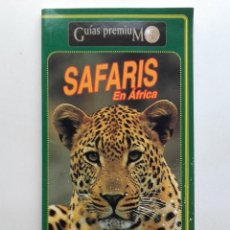 Libros de segunda mano: SAFARIS EN AFRICA - GUIAS PREMIUM - EDICIONES JAGUAR. Lote 192083253
