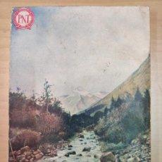 Libros de segunda mano: RUTA DEL PIRINEO ESPAÑOL, POR C. LANA SARRATE, AÑO 1933,. Lote 208701245