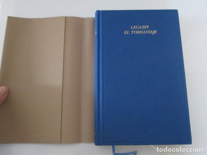 Libros de segunda mano: LEGAZPI. EL TORNAVIAJE. NAVEGANTES OLVIDADOS POR EL PACIFICO NORTE. FUNDACION JOSE ANTONIO DE CASTRO - Foto 7 - 192216915