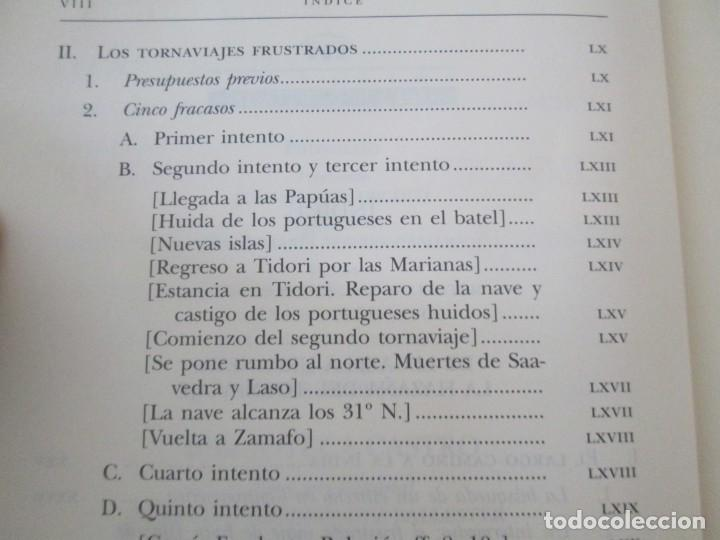 Libros de segunda mano: LEGAZPI. EL TORNAVIAJE. NAVEGANTES OLVIDADOS POR EL PACIFICO NORTE. FUNDACION JOSE ANTONIO DE CASTRO - Foto 10 - 192216915