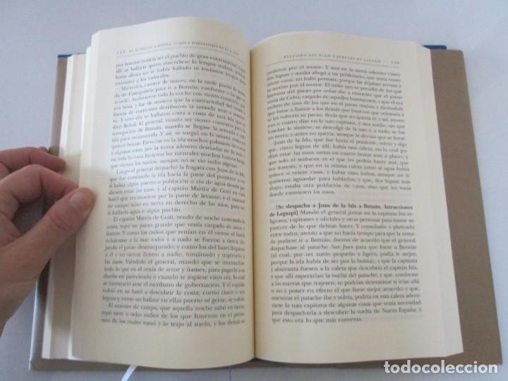 Libros de segunda mano: LEGAZPI. EL TORNAVIAJE. NAVEGANTES OLVIDADOS POR EL PACIFICO NORTE. FUNDACION JOSE ANTONIO DE CASTRO - Foto 16 - 192216915