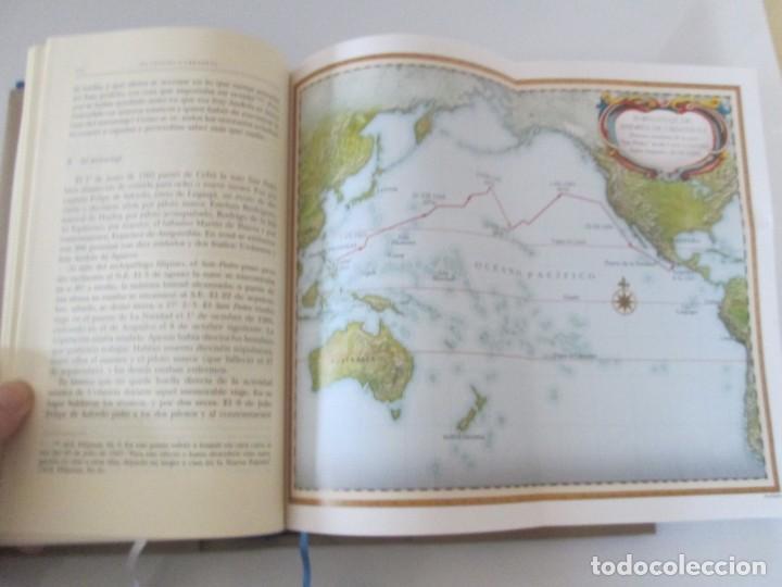 Libros de segunda mano: LEGAZPI. EL TORNAVIAJE. NAVEGANTES OLVIDADOS POR EL PACIFICO NORTE. FUNDACION JOSE ANTONIO DE CASTRO - Foto 19 - 192216915