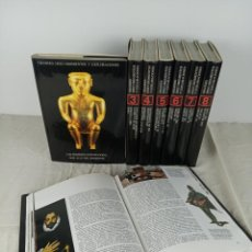 Libros de segunda mano: COLECCIÓN GRANDES DESCUBRIMIENTOS Y EXPLORACIONES. 8 TOMOS. URMO EDICIONES. BILBAO. 1992.. Lote 192278865