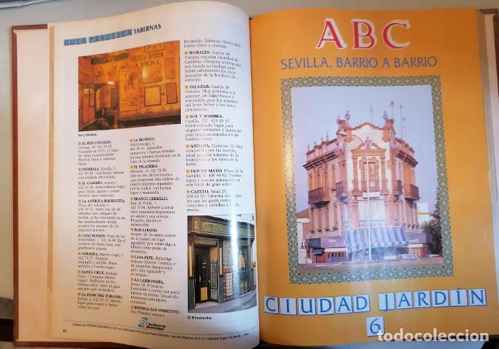 Libros de segunda mano: Sevilla barrio a barrio. Coleccionable ABC Encuadernado - Foto 3 - 192760008