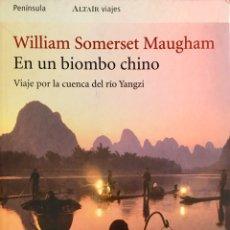 Livros em segunda mão: EN UN BIOMBO CHINO. W. SOMERSET MAUGHAM. Lote 192926202