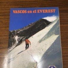 Libros de segunda mano: VASCOS EN EL EVEREST. Lote 193194282