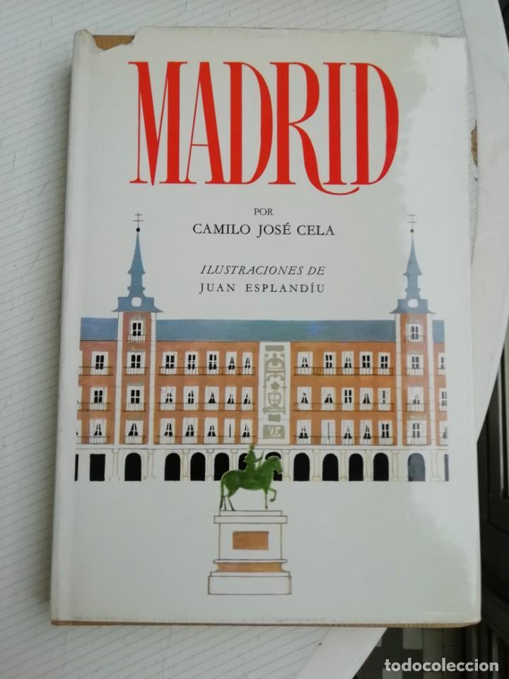 MADRID DE CAMILO JOSÉ CELA (Libros de Segunda Mano - Geografía y Viajes)