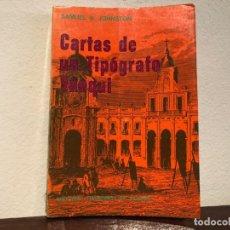 Libros de segunda mano: CARTAS DE UN TOPÓGRAFO YANQUI. SAMUEL B. JOHNSTON. EDIT. FCO AGUIRRE. PERÚ Y CHILE. INDEPENDENCIA.. Lote 193840637
