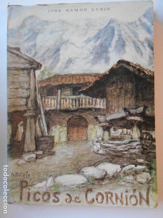 PICOS DE CORNION. JOSE RAMON LUEJE. LOS PICOS DE CORNION (MACIZO DE PEÑA SANTA - OCCIDENTAL DE LOS P (Libros de Segunda Mano - Geografía y Viajes)