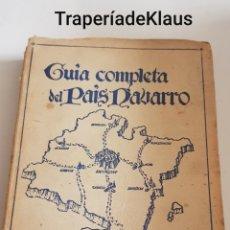 Libros de segunda mano: GUIA COMPLETA DEL PAIS NAVARRO - MARCELO NUÑEZ CEPEDA - TDK208. Lote 194247312