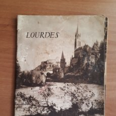 Libros de segunda mano: LOURDES. ANDRÉ COMBES. ANTIGUA GUIA DE VISITA. Lote 194269407