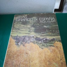 Libros de segunda mano: ATLAS GRAFICO DE ESPAÑA DE AGUILAR. Lote 194275087