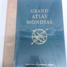 Libros de segunda mano: GRAND ATLAS MONDIAL. Lote 194326926