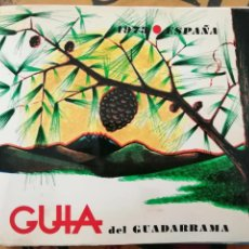 Libros de segunda mano: GUIA DEL GUADARRAMA. 1973. Lote 194336972