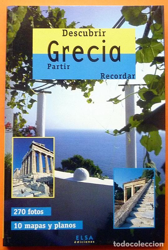 DESCUBRIR GRECIA - ELSA EDICIONES - 1998 - NUEVO (Libros de Segunda Mano - Geografía y Viajes)