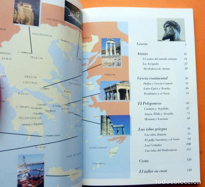 Libros de segunda mano: DESCUBRIR GRECIA - ELSA EDICIONES - 1998 - NUEVO - Foto 3 - 194357055