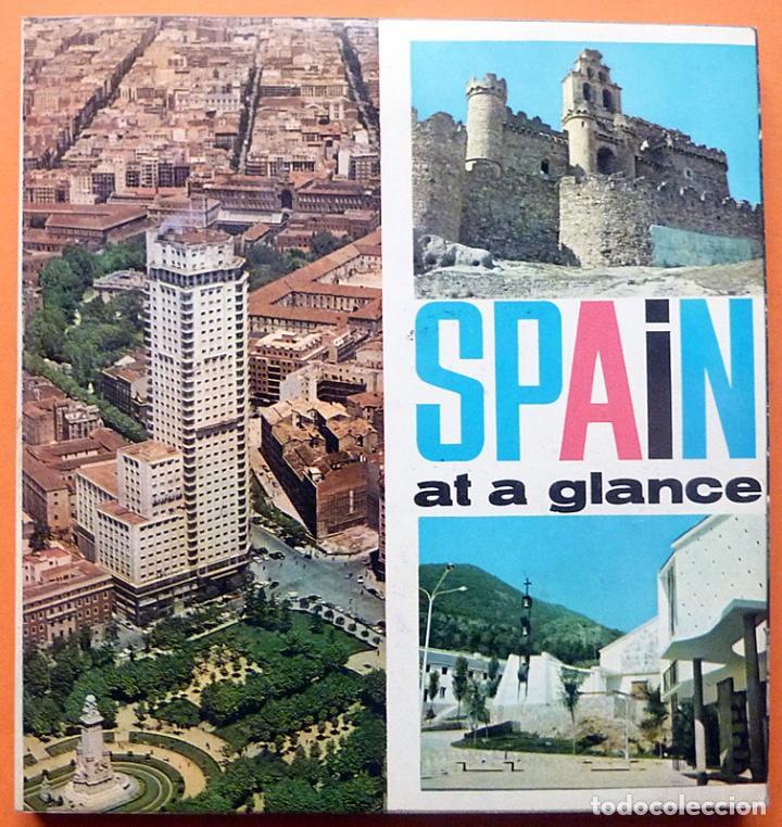 SPAIN AT A GLANCE - EN INGLÉS - 1964 ?? - VER INDICE - COMO NUEVO (Libros de Segunda Mano - Geografía y Viajes)