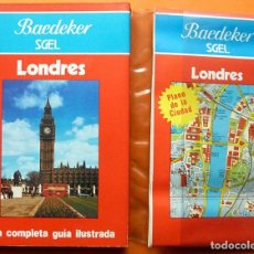 Libros de segunda mano: LONDRES: GUÍA ILUSTRADA + PLANO - EN FUNDA DE PLÁSTICO ORIGINAL - BAEDEKER - 1985 - NUEVO. Lote 194509062